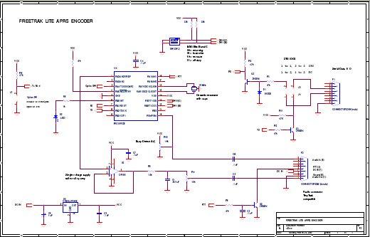 GPS to APRS tracking encoder